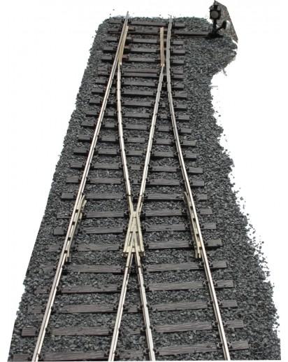 Code 250 Weichenbausatz 45 mm, 7,1°, 3000 Radius