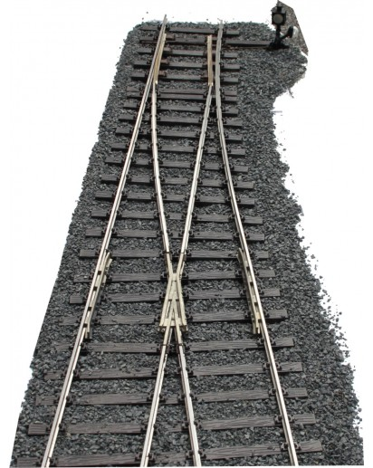 Code 250 Weichenbausatz 64 mm, 7,1°, 3000 Radius