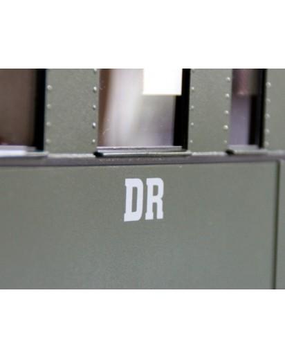 """Decal Beschriftung """"DR"""" Logo, 2 Stück"""