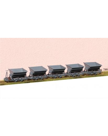 Kipplore 1m³ Spur 2f, 5er Set