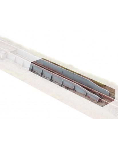Teilesatz Rollbockgrube - Spur 1 / 1e