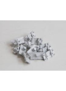 Schienenstühlchen Metall für Code 250 Gleis, 1000 Stück