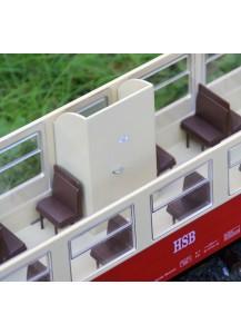 Toillettenabteil für Trainline HSB Wagen, Bausatz