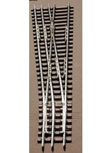 Spur 1e Weiche Dreischienengleis, 7,5°, 1500 mm Radius