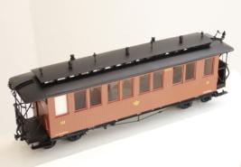 Wagen der Gattung 715/716 mit Heberleinbremse
