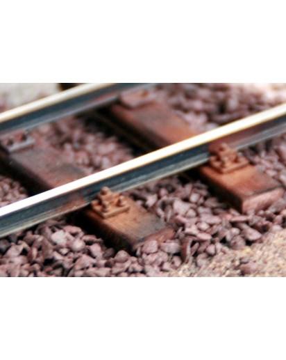 Holzschwellengleis mit Profil S33, 914mm, 1e