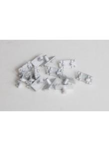 Schienenstühlchen Metall 1:32, 100 Stück