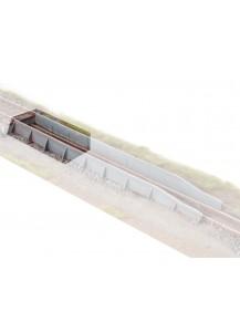 Teilesatz Rollbockgrube Erweiterungselement - Spur 1 / 1e